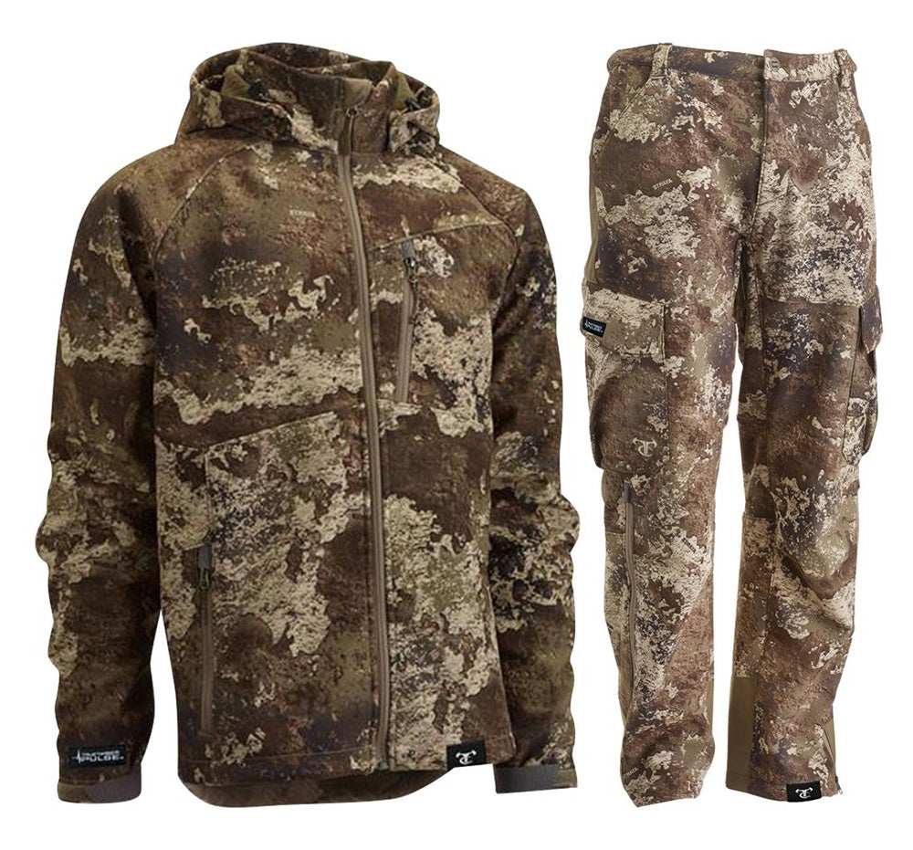 true timber soft shell jacket and pants