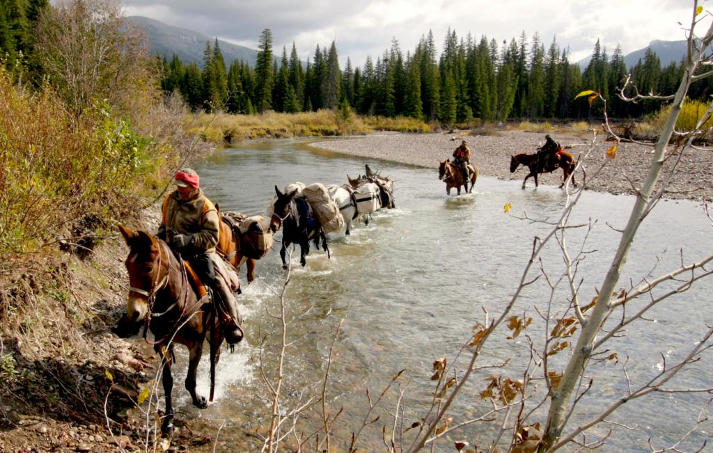 horseback hunters