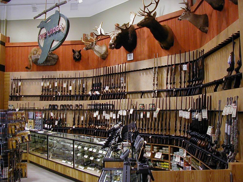 lodge section gun shop