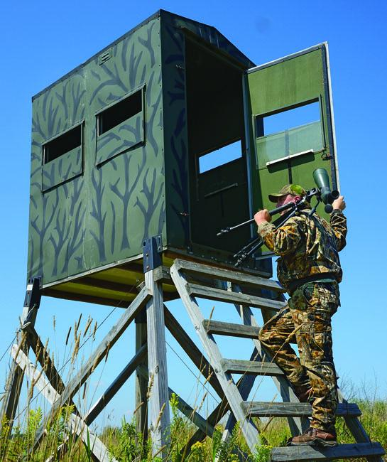 Ultimate Observation Stand: The Whitetail Lab