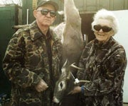 Legally Blind Hunter Takes First Buck After 37 Years