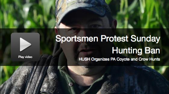 Video: Pennsylvania Sportsmen Hunt on Sunday to Protest Ban