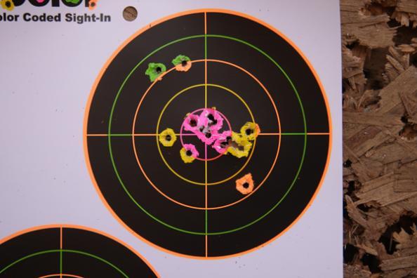 centerpunch target