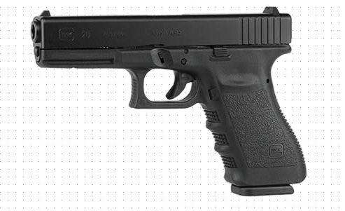 Glock 20 gun for bears