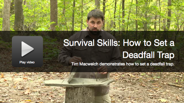 Video: How To Make and Use a Deadfall Trap