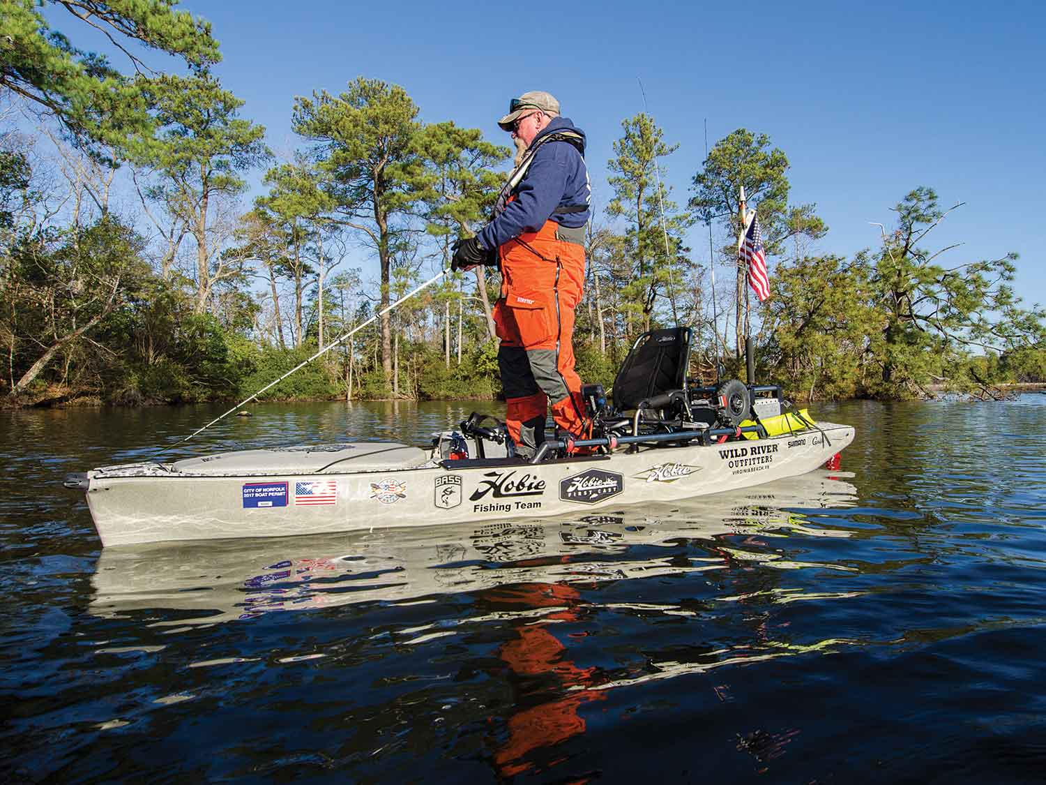 Pro Angler 14 with MirageDrive 180
