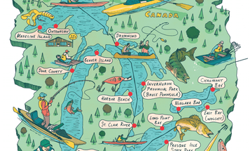 The 16 Best Small-Boat Fishing Spots on the Great Lakes