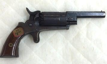 Gun of the Week: Walch 10-Shot Double Hammers Pocket Revolver