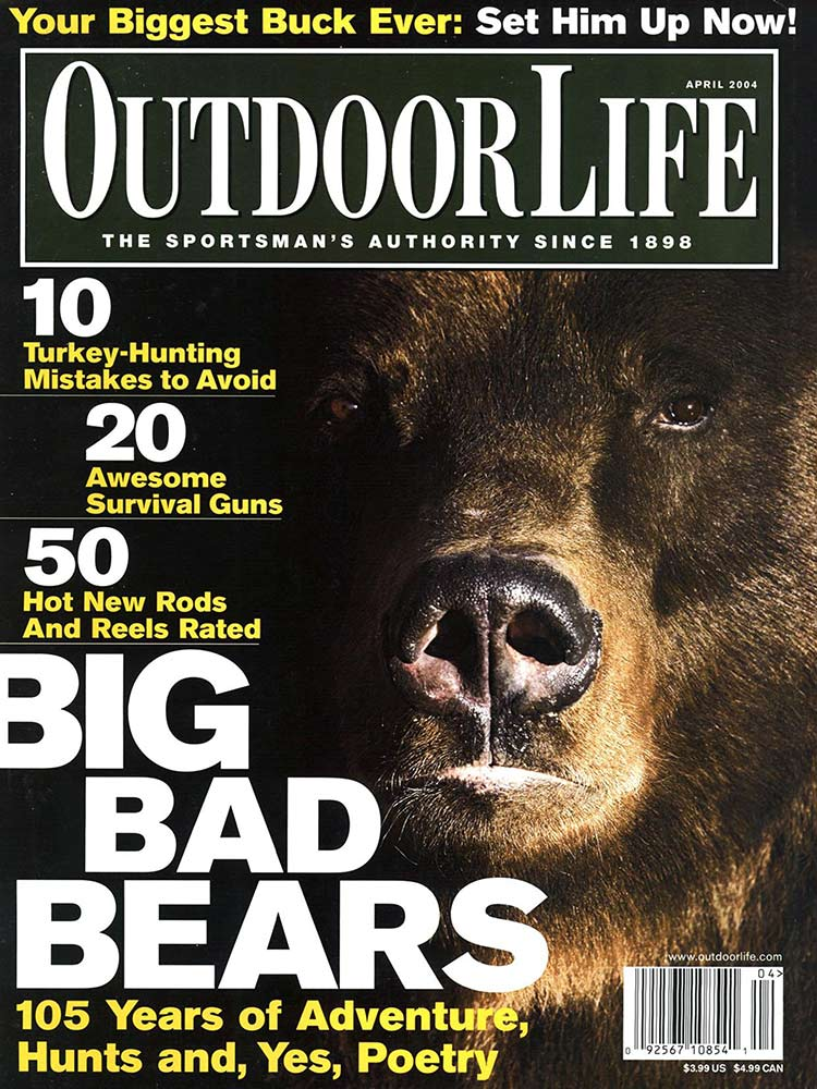 April 2004 Cover of Outdoor Life
