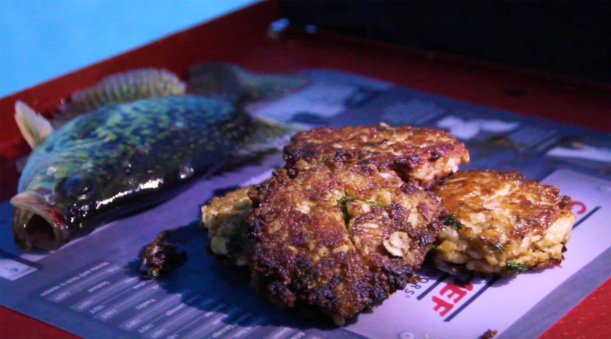 Recipe for Ice Fishermen: Fried Crappie Cakes