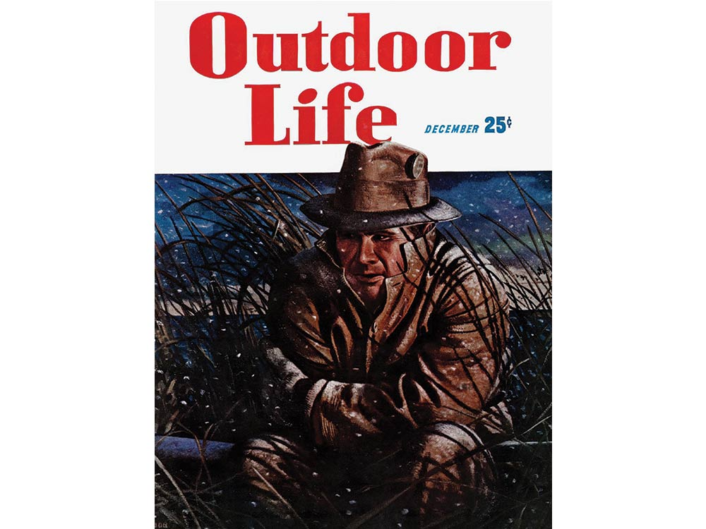 December 1947 cover of Outdoor Life