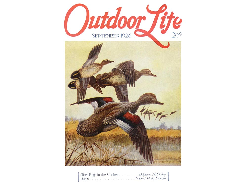 September 1926 cover of Outdoor Life