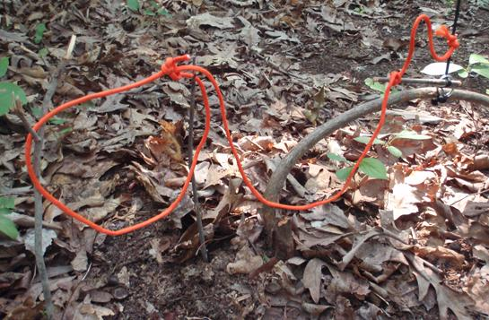 Survival Skills: How To Make A Key Ring Trap Trigger