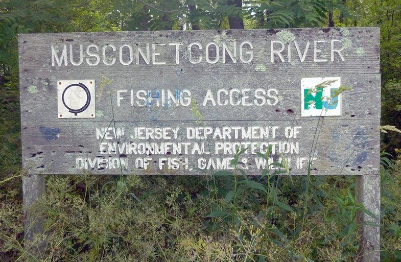 musconetcong river
