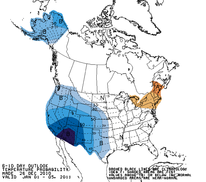 Whitetail Weather Forecast Dec. 27 – Jan. 2