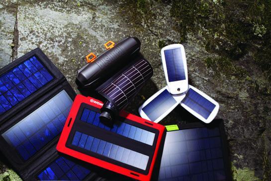 solar panels tested