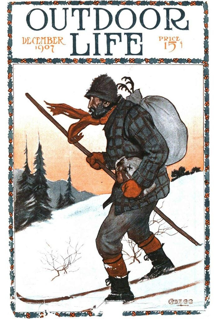 December 1907 Cover of Outdoor Life