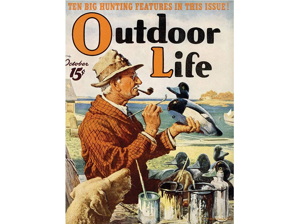 October 1939 cover of Outdoor Life