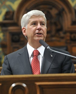 Michigan Governor To Join Open Country Effort