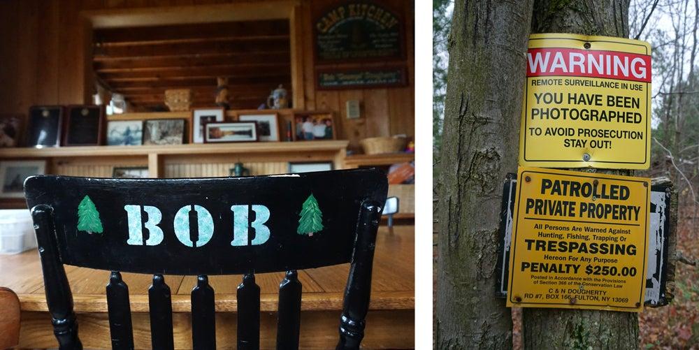 deer camp chair