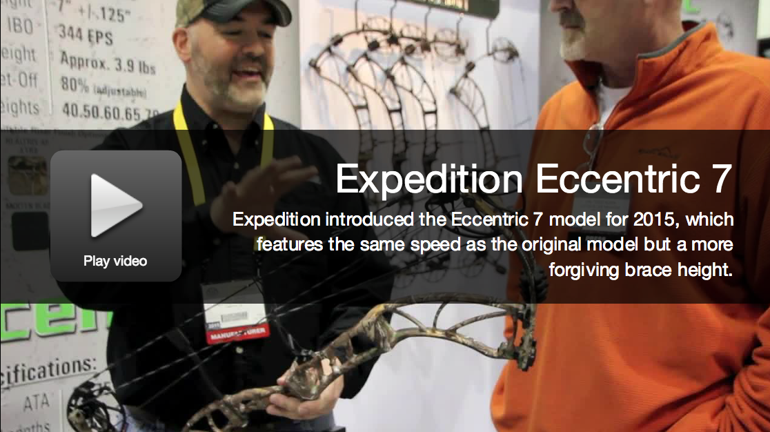 New Bows 2015: Expedition Eccentric 7