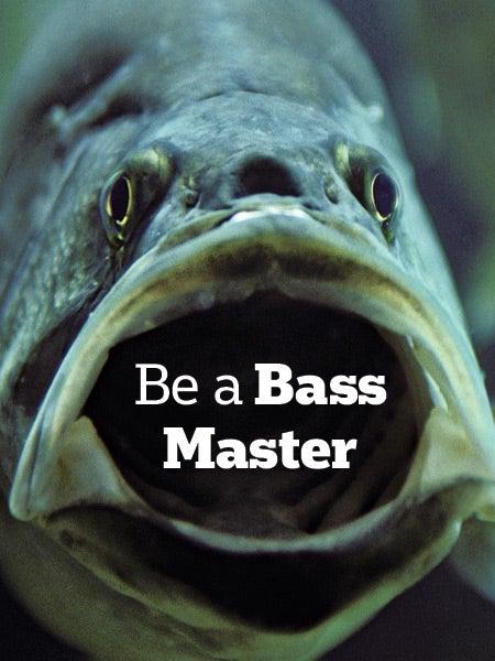 Be a Bass Master