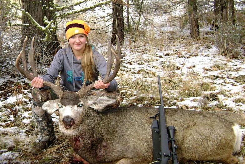 Big Bucks: 15-Year-Old Tags Trophy Muley on Oregon Youth Hunt