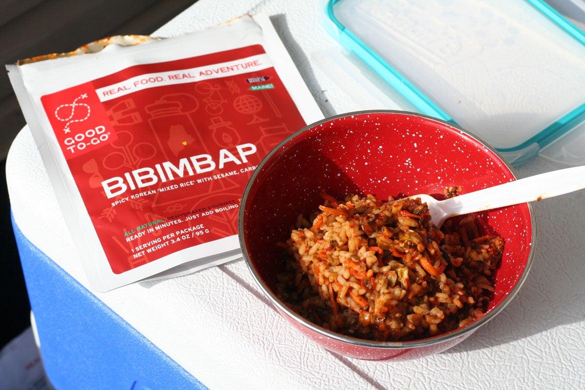 good to-go bibimbap