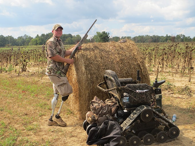Therapy Afield: Injured Marines Turn to Hunting and Fishing