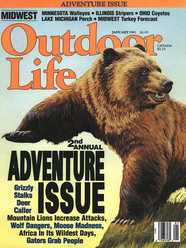 January 1991 Cover of Outdoor Life