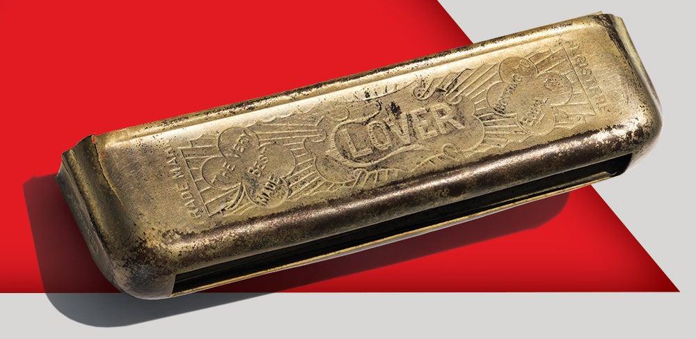 Clover No. 130 Harmonica