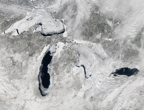 Record Freeze on the Great Lakes Has Big Impact on Fish and Waterfowl
