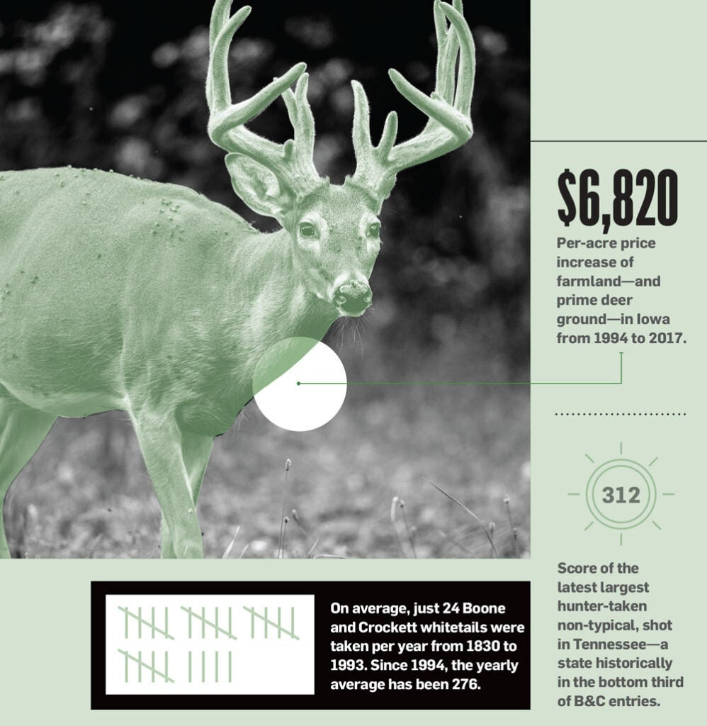 2018 whitetail report infographic