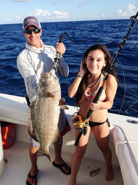 NJ Girl Lands Record Black Grouper in Key West