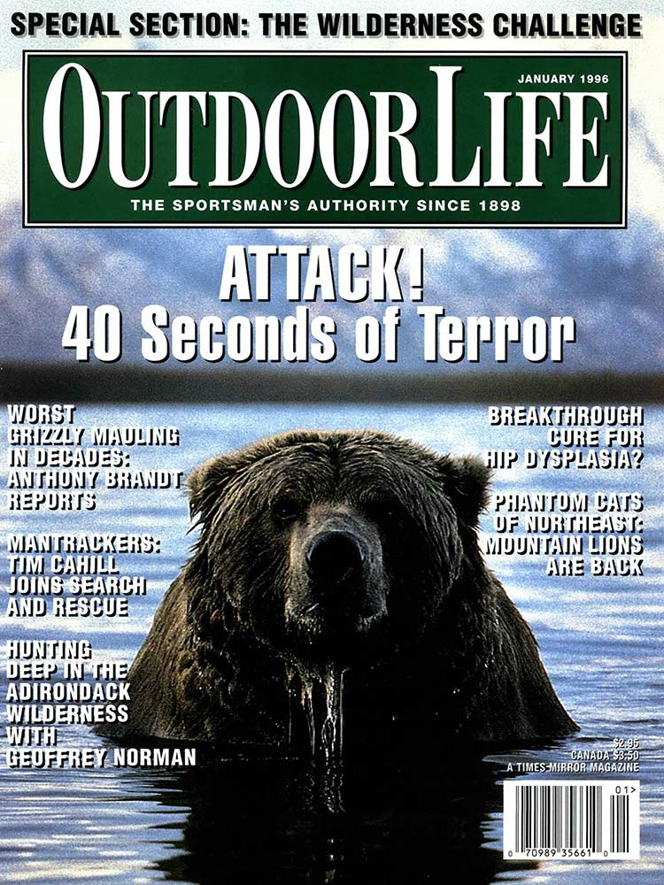 January 1996 Cover of Outdoor Life