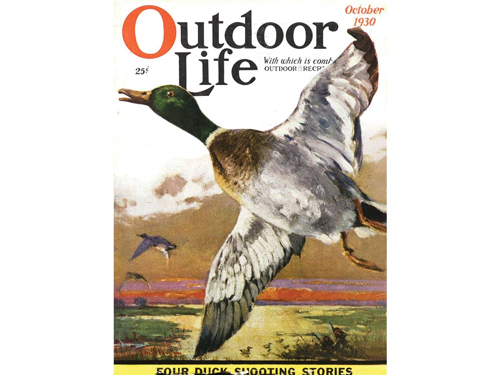 October 1930 cover of Outdoor Life