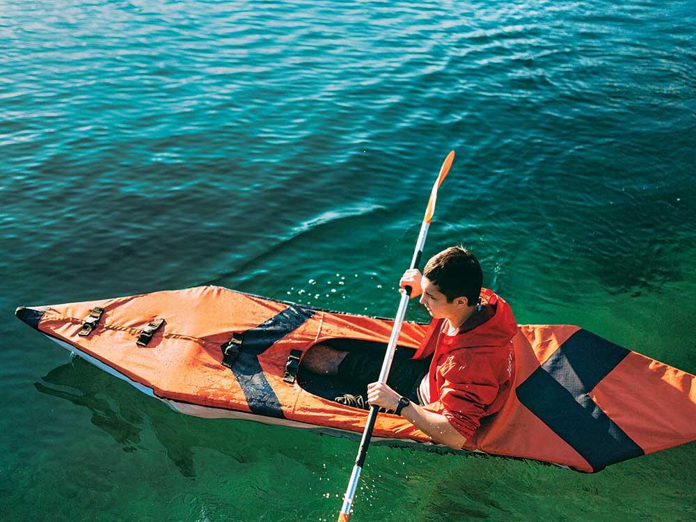 smaller kayak