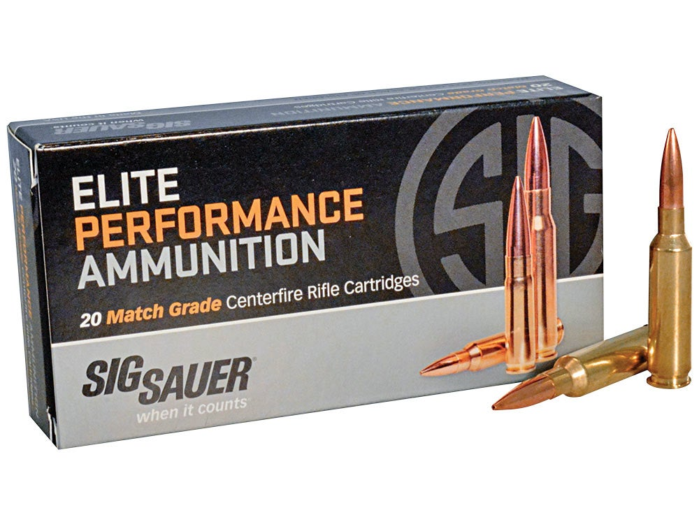 Sig Sauer 6.5 Creedmoor OTM ammunition
