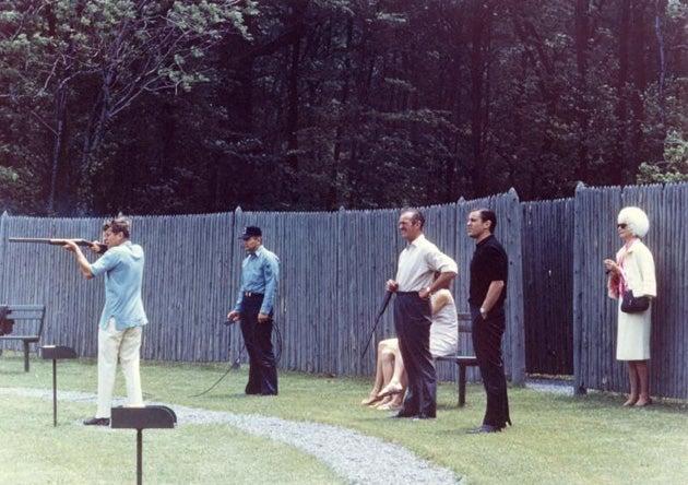 president jfk, john f kennedy, skeet, gun, presidential gun,