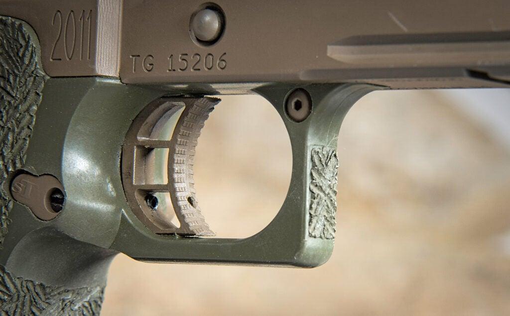 STI 2011 Hex Tactical trigger