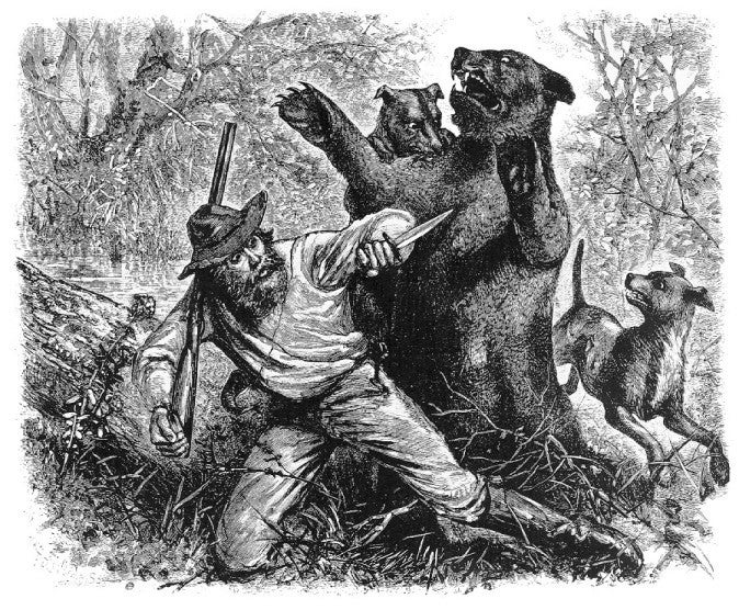 hugh glass lord grizzly