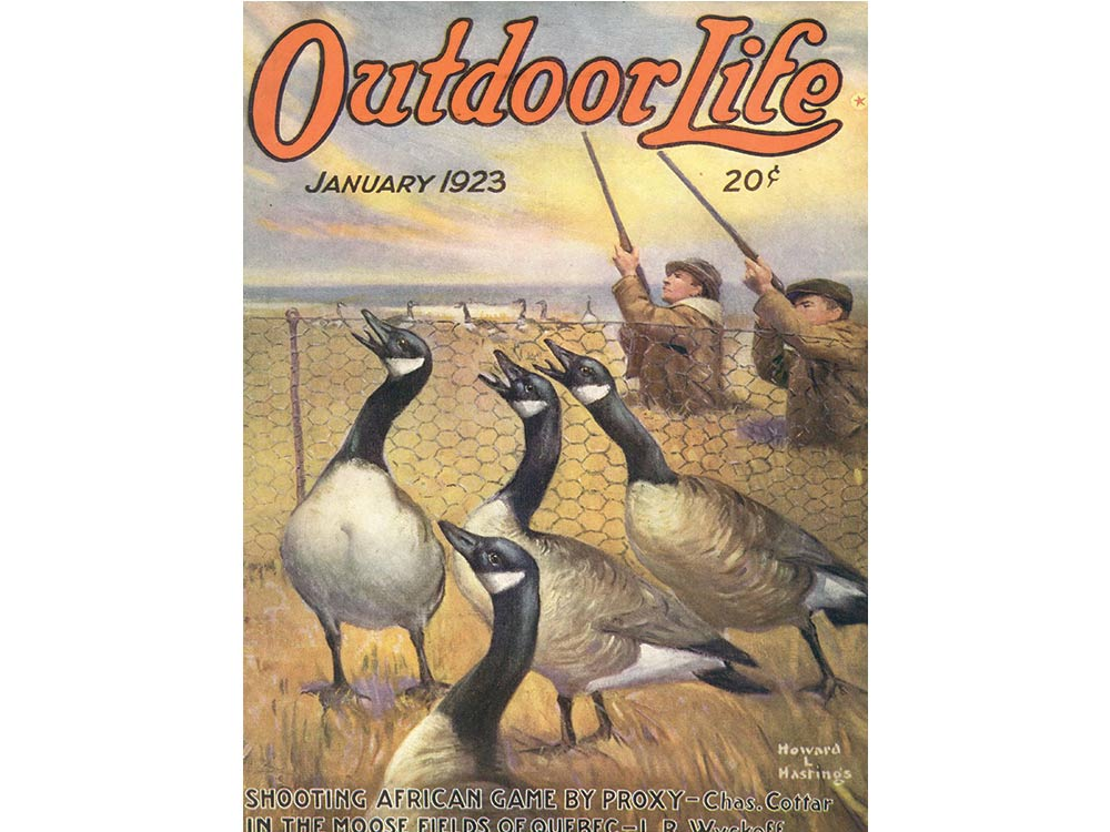 January 1923 cover of Outdoor Life