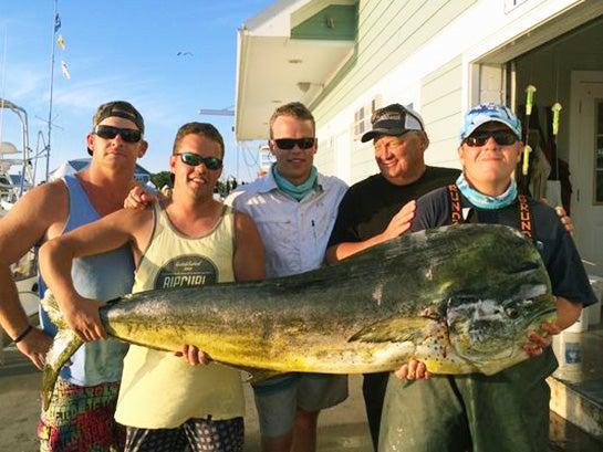 New State-Record Mahi Mahi Caught in Delaware
