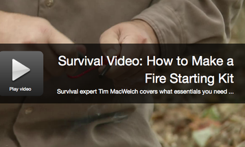 Survival Skills: Build A Fire Starting Kit