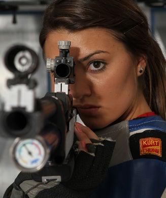 Womens collegiate rifle teams