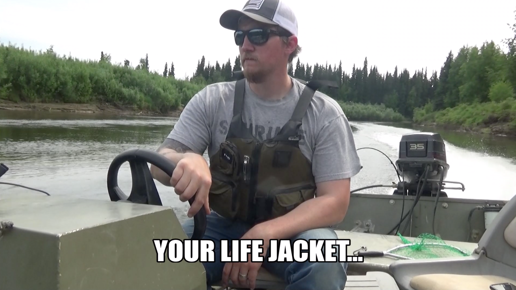 Why Even the Most Bad-Ass Outdoorsmen Need a Life Jacket