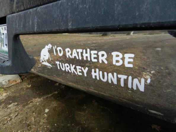 The Upside of Turkey Hunting Bumper Stickers