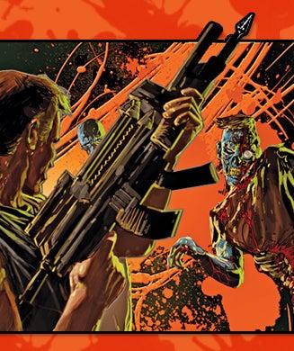 Surviving the Undead: Zombie Guns