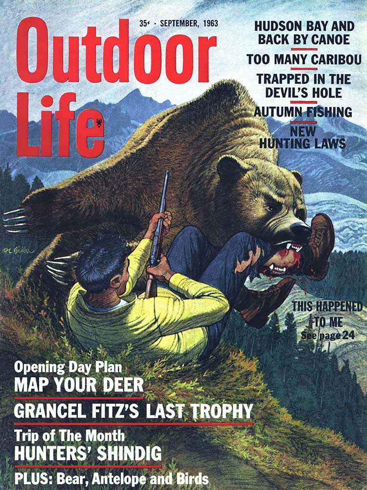 September 1963 Cover of Outdoor Life
