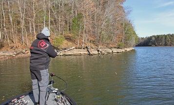 Bass Fishing: Winter Rains Spur More Bites